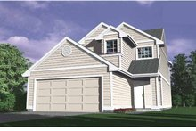 Traditional Exterior - Front Elevation Plan #509-177