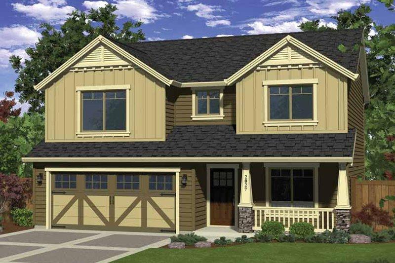 Dream House Plan - Craftsman Exterior - Front Elevation Plan #943-24