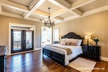 House Design - Traditional Interior - Master Bedroom Plan #929-1042