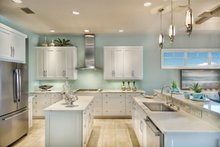 Mediterranean Interior - Kitchen Plan #930-448