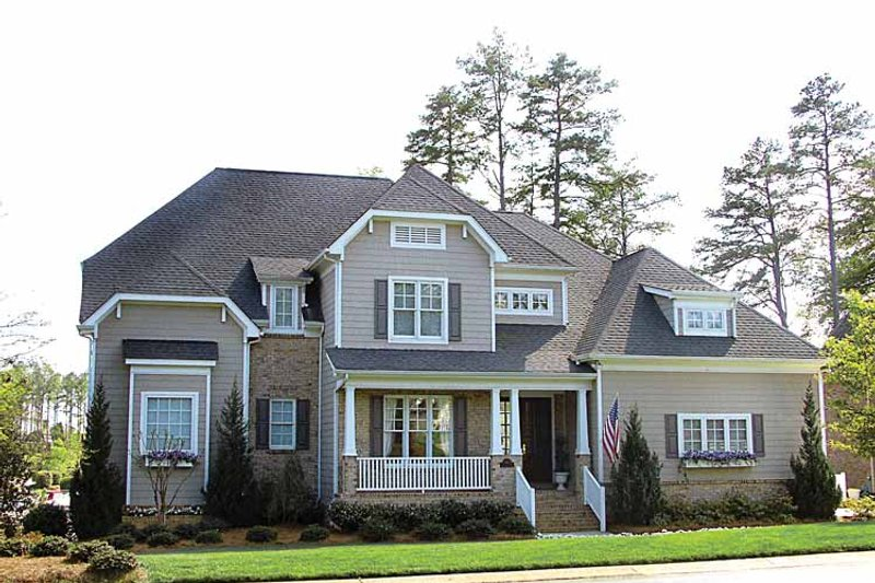 Craftsman Exterior - Front Elevation Plan #453-302 - Houseplans.com
