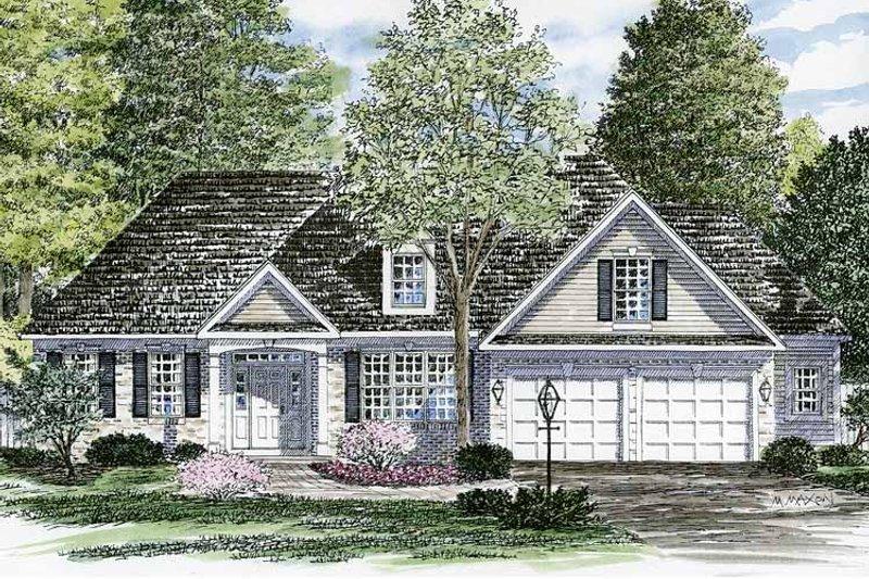 Ranch Exterior - Front Elevation Plan #316-248 - Houseplans.com