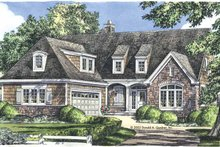 Country Exterior - Front Elevation Plan #929-682