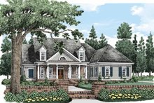 House Design - Colonial Exterior - Front Elevation Plan #927-486