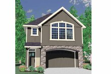 Craftsman Exterior - Front Elevation Plan #509-194