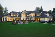 Craftsman Style House Plan - 5 Beds 5.5 Baths 7400 Sq/Ft Plan #132-182 Photo