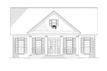 House Plan Design - Country Exterior - Front Elevation Plan #17-2903