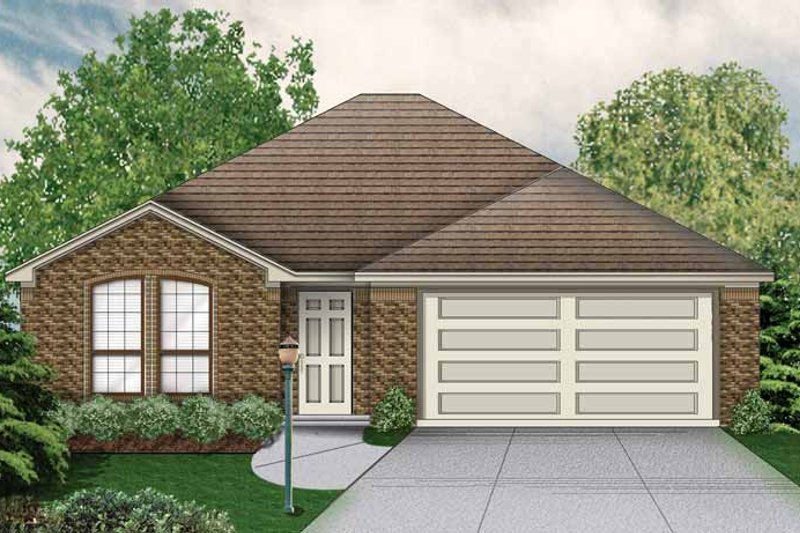 Home Plan - Traditional Exterior - Front Elevation Plan #84-747