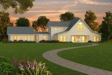 Architectural House Design - Farmhouse Exterior - Front Elevation Plan #888-1