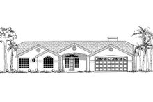 Country Exterior - Other Elevation Plan #437-24