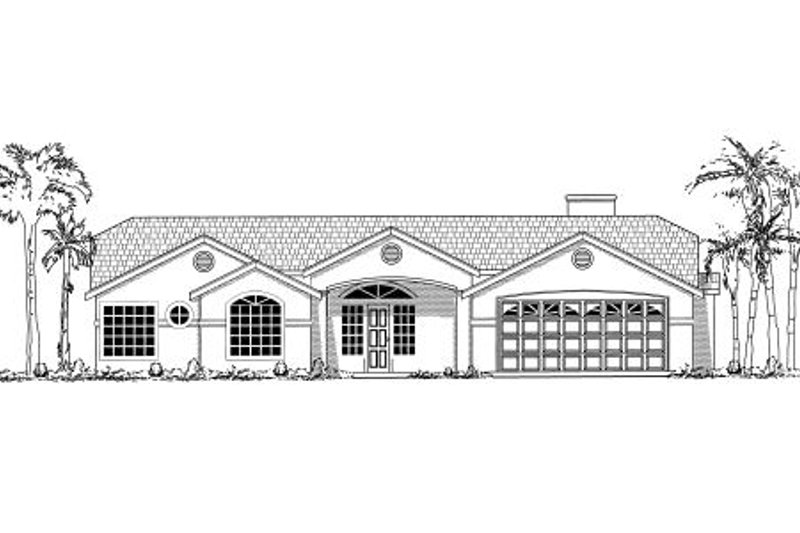 Country Exterior - Other Elevation Plan #437-24 - Houseplans.com