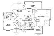 Traditional Style House Plan - 5 Beds 4 Baths 2440 Sq/Ft Plan #5-294