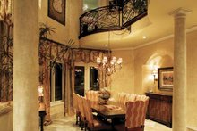 House Plan Design - European Interior - Dining Room Plan #930-357