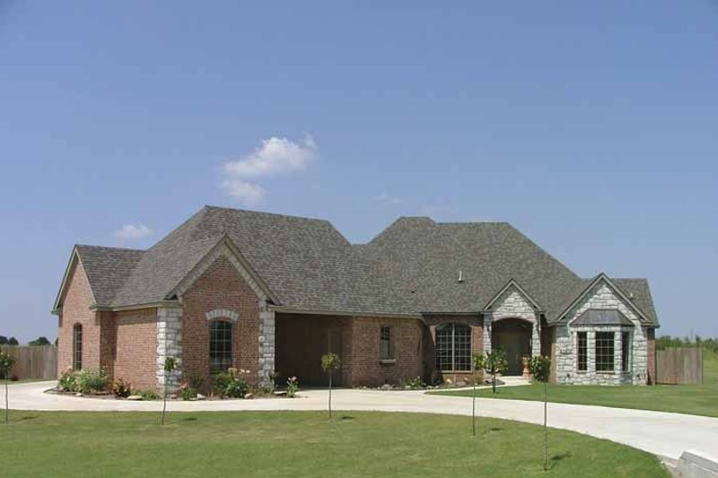 Country Exterior - Front Elevation Plan #310-1130 - Houseplans.com