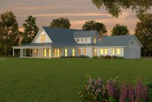 Farmhouse Exterior - Other Elevation Plan #888-1