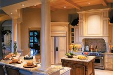 Mediterranean Interior - Kitchen Plan #930-314