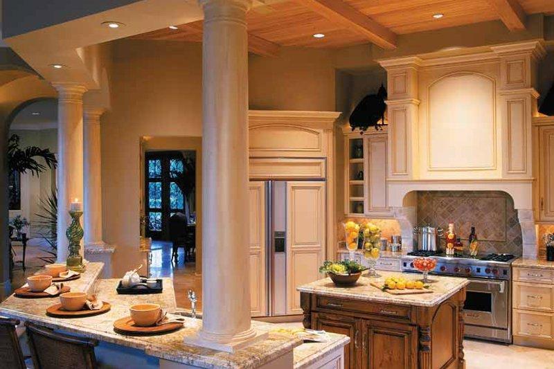 Mediterranean Interior - Kitchen Plan #930-314 - Houseplans.com