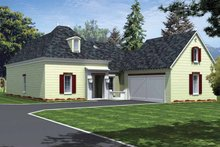 Dream House Plan - Country Exterior - Front Elevation Plan #15-381