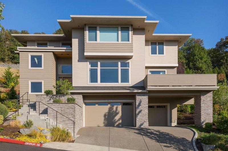 Home Plan - Modern Exterior - Front Elevation Plan #48-613