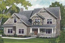 House Design - Craftsman Exterior - Front Elevation Plan #453-531