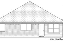 Traditional Exterior - Rear Elevation Plan #84-545