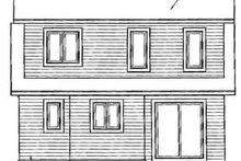 Craftsman Exterior - Rear Elevation Plan #23-2092