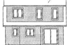House Plan Design - Craftsman Exterior - Rear Elevation Plan #23-2092