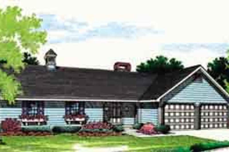 Home Plan - Ranch Exterior - Front Elevation Plan #45-235