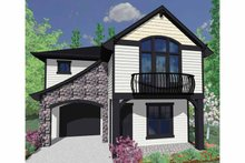 Traditional Exterior - Front Elevation Plan #509-196