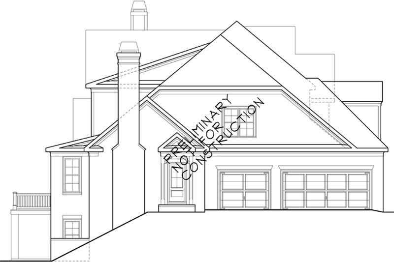 European Exterior - Other Elevation Plan #927-531 - Houseplans.com