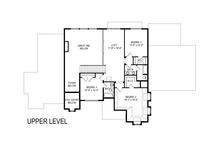 European Floor Plan - Upper Floor Plan Plan #920-107