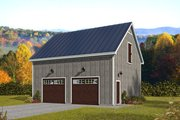 Country Style House Plan - 0 Beds 0 Baths 1540 Sq/Ft Plan #932-367