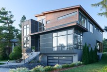 Dream House Plan - Modern Exterior - Other Elevation Plan #1066-109