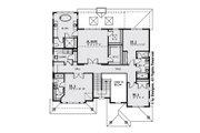 Modern Style House Plan - 5 Beds 4.5 Baths 3500 Sq/Ft Plan #1066-13