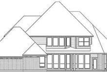 Dream House Plan - European Exterior - Rear Elevation Plan #84-240