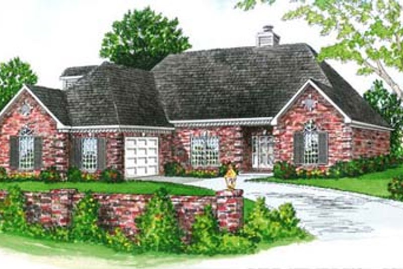 Traditional Style House Plan 3 Beds 2 Baths 1692 Sq Ft Plan 16 130 Houseplans Com