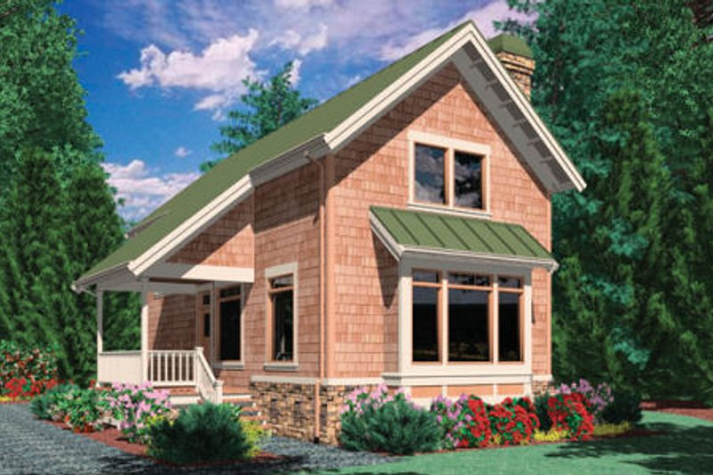 Dream House Plan - Traditional Exterior - Front Elevation Plan #48-302