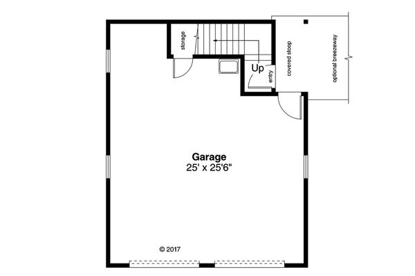 Country Floor Plan - Main Floor Plan Plan #124-1098