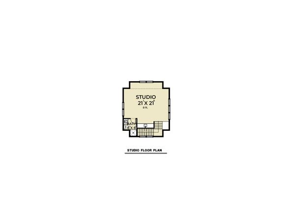Architectural House Design - Farmhouse Floor Plan - Other Floor Plan #1070-112