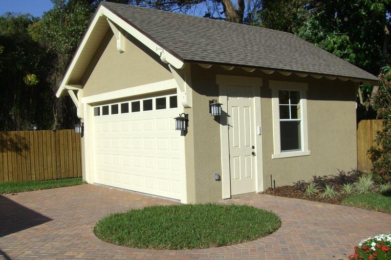 Craftsman Exterior - Front Elevation Plan #64-214 - Houseplans.com