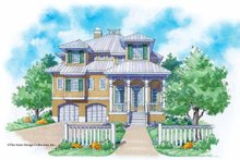 Mediterranean Exterior - Front Elevation Plan #930-116