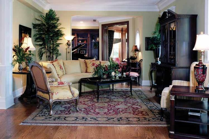 Classical Interior - Family Room Plan #46-741 - Houseplans.com