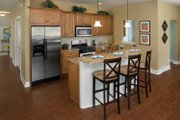 Traditional Style House Plan - 2 Beds 2 Baths 1964 Sq/Ft Plan #928-115 Interior - Kitchen