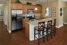 Traditional Interior - Kitchen Plan #928-115