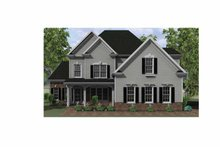 Country Exterior - Front Elevation Plan #1010-7