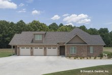 Home Plan - Ranch Exterior - Other Elevation Plan #929-1059