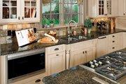 European Style House Plan - 5 Beds 5 Baths 4357 Sq/Ft Plan #929-893 Interior - Kitchen