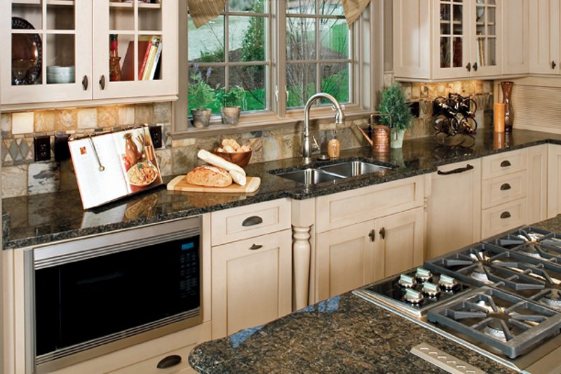 European Interior - Kitchen Plan #929-893 - Houseplans.com