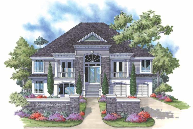 Southern Exterior - Front Elevation Plan #930-163 - Houseplans.com
