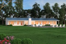 House Plan Design - Ranch Exterior - Rear Elevation Plan #888-8